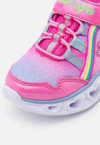 Skechers - HEART LIGHTS - Trainers - pink/multicolor - 5
