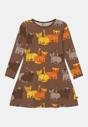 CATS - Jerseykleid - toasted coco