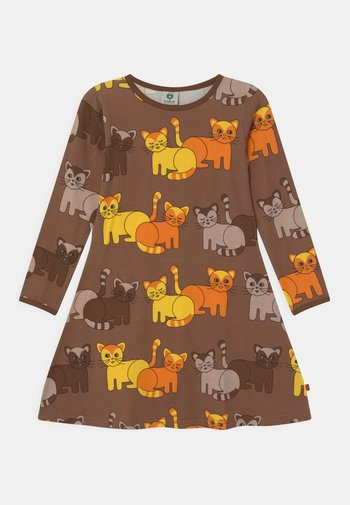 CATS - Jersey dress - toasted coco