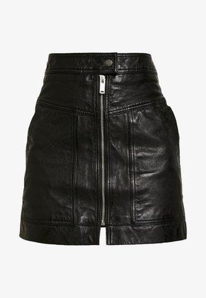 GINA - A-line skirt - black