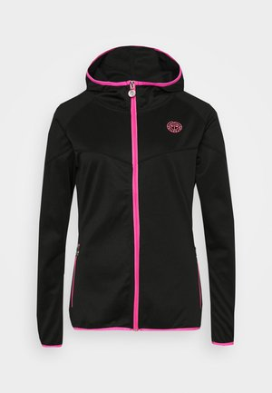 INGA TECH JACKET - Training jacket - black/pink