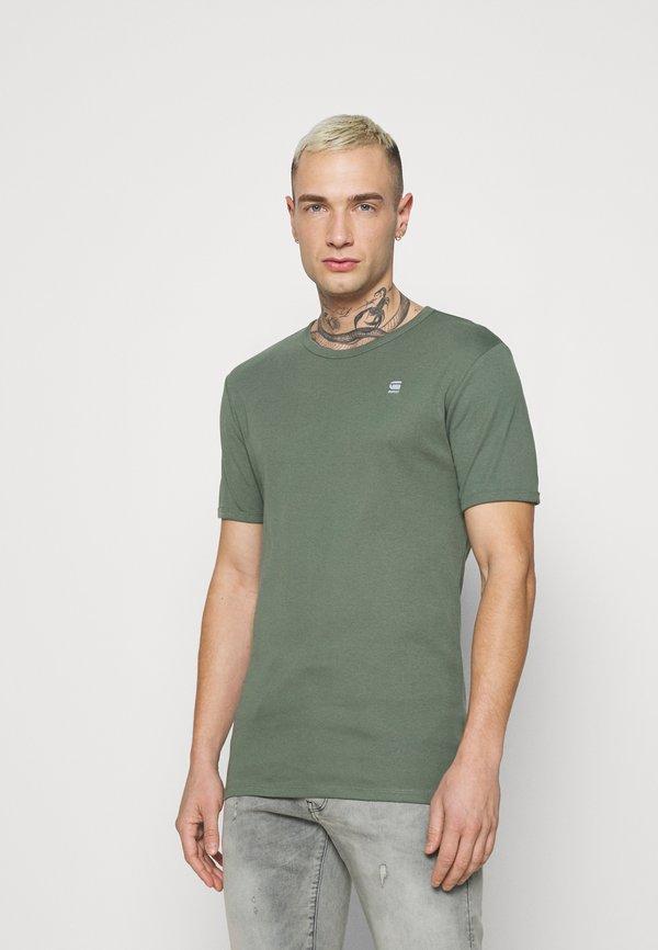 G-Star BASE 2 PACK - T-shirt basic - teal grey/turkusowy Odzież Męska IQMF