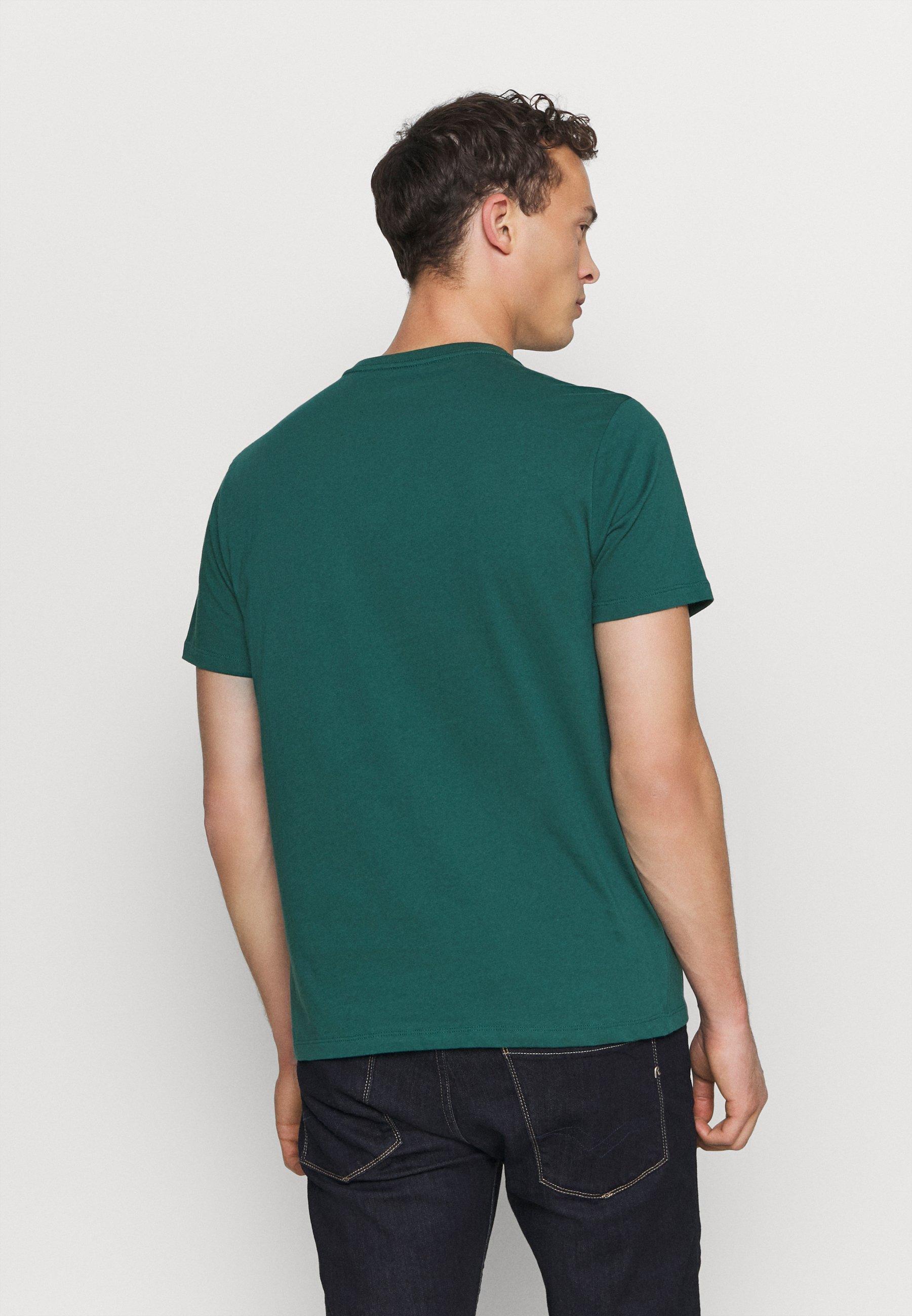 Gap Basic Logo - T-shirt Z Nadrukiem Velvet Teal