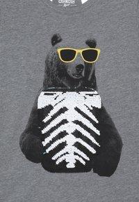 OshKosh - KIDS TIER BASIC TEE - Langærmede T-shirts - grey heather - 3