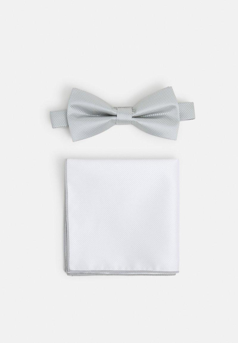 Pier One - SET - Bow tie - grey
