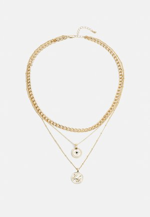 PCKERTIN COMBI NECKLACE  - Necklace - gold-coloured