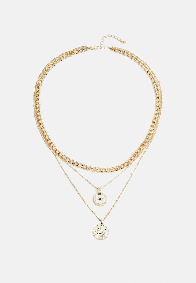 PCKERTIN COMBI NECKLACE  - Collier - gold-coloured