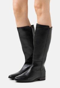 Musse & Cloud - GARBI - Vysoká obuv - black - 0