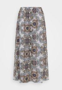 ONLNOVA LIFE LONG BUTTON SKIRT - A-line skirt - pumice stone/resort mandela