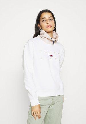 TONAL LOGO FUNNEL NECK - Sweatshirt - smooth stone