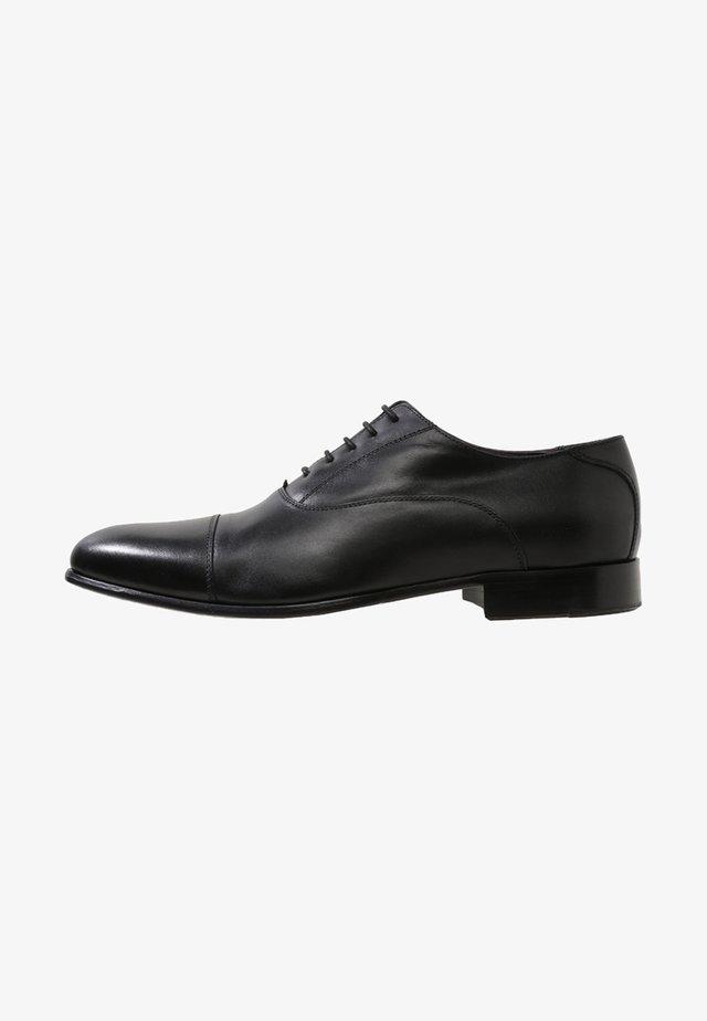 CLIFF - Smart lace-ups - black