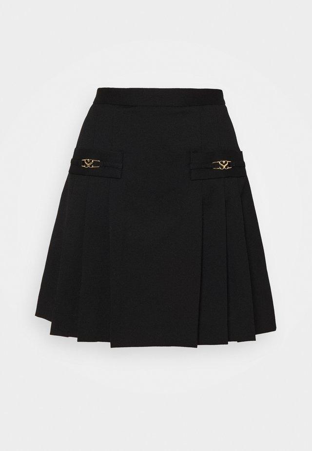 REBECA - A-line skirt - noir