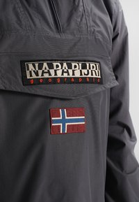 Napapijri - RAINFOREST SUMMER - Windbreaker - dark grey - 4