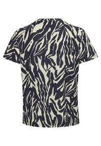 Soaked in Luxury - SLSALLIE  - Print T-shirt - zebra strokes blue - 7