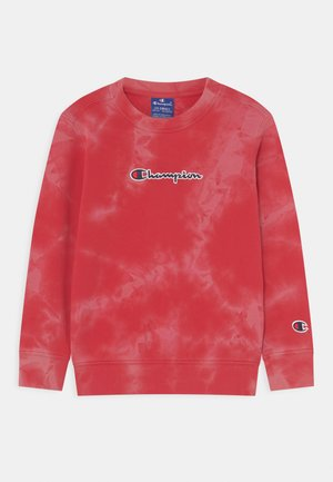 COLOR SPLASH CREWNECK UNISEX - Sweatshirt - red