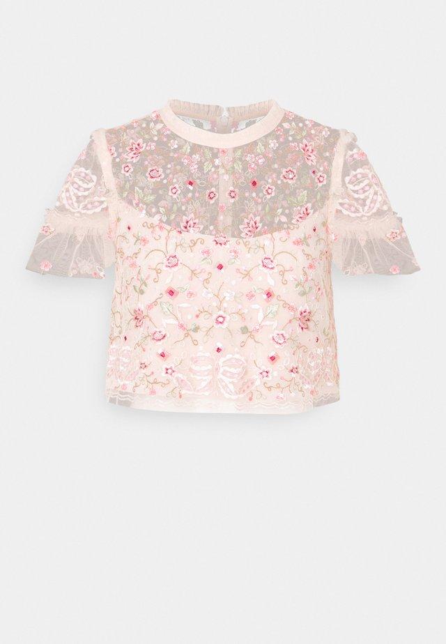ELSIE TOP - Blouse - pink encore