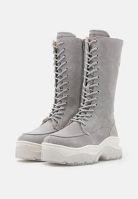 Bronx - JAXSTAR - Platform boots - ice grey - 2