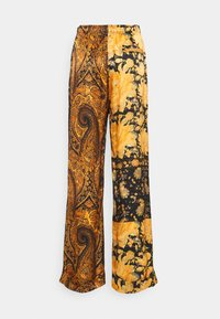 The Kooples - PANTS - Trousers - black/orange - 1
