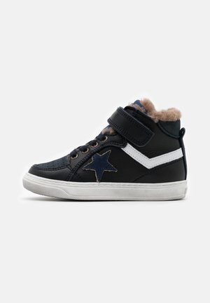 IAN - High-top trainers - navy