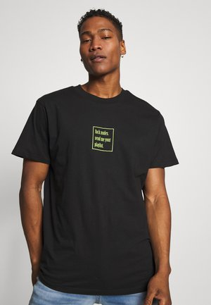 PLAYLIST - Print T-shirt - black