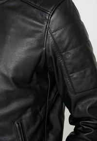 Chevignon - RIDE - Leather jacket - noir - 4
