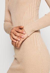 Even&Odd - JUMPER DRESS - Pouzdrové šaty - cuban sand - 5