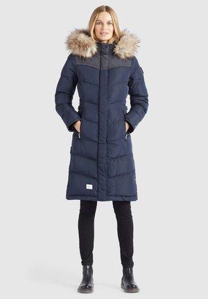 LUBECK LONG4 - Winter coat - blau