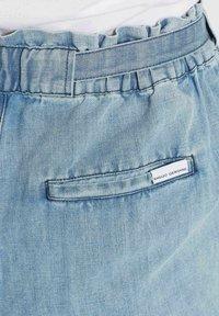 khujo - CANDICE - Denim shorts - blau - 5