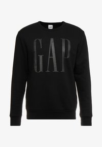 GAP - LOGO CREW - Sweatshirt - true black - 3