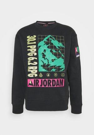 MOUNTAINSIDE CREW - Sweatshirt - black