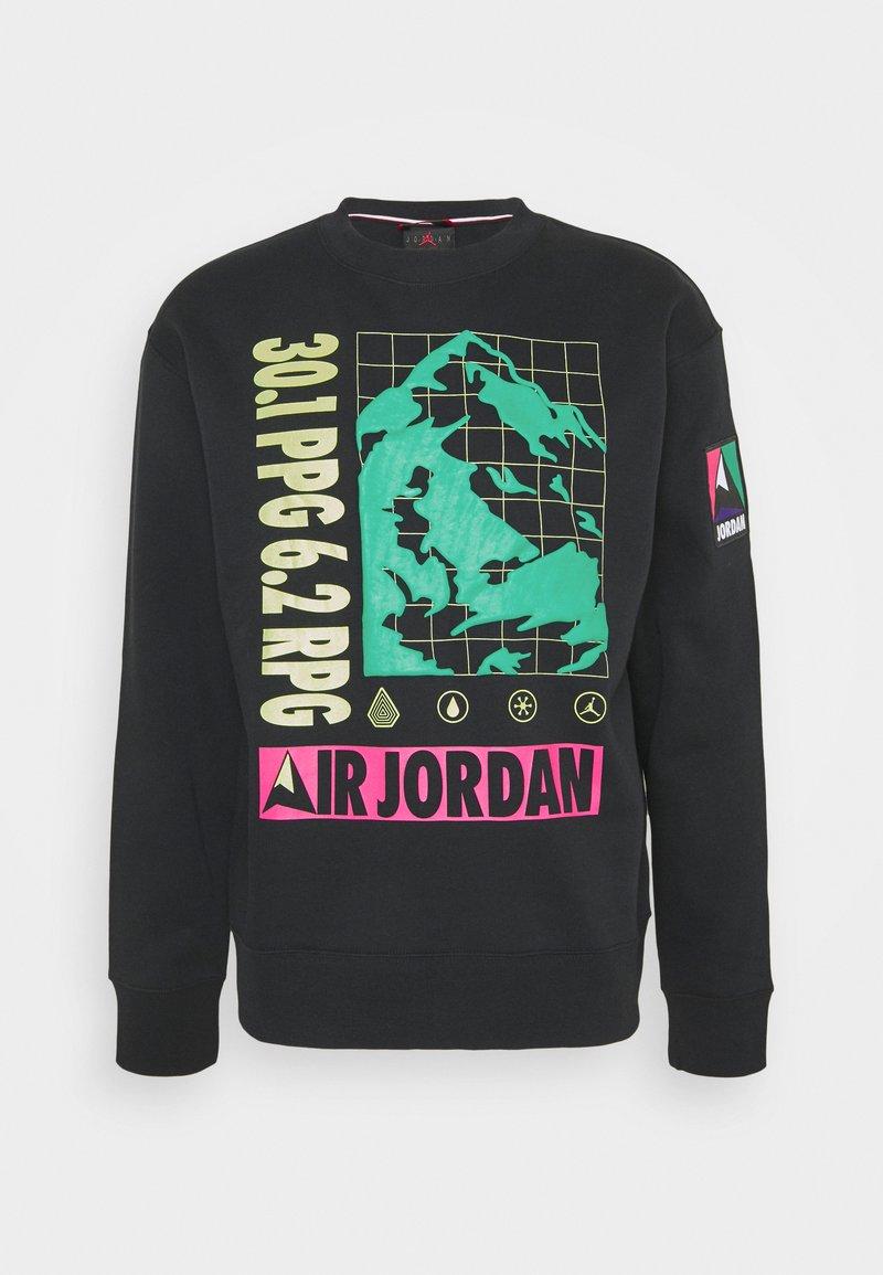 Jordan - MOUNTAINSIDE CREW - Sweatshirt - black