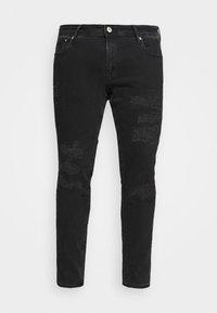 Jack & Jones - JJILIAM JJORIGINAL - Jeans Skinny Fit - black denim - 4