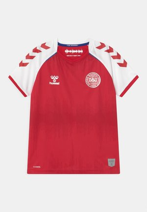 DÄNEMARK DBU 20/21 HOME UNISEX - Club wear - tango red