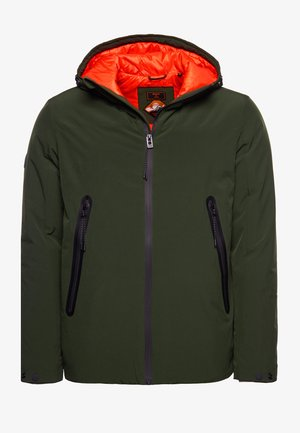 Winter jacket - soft moss