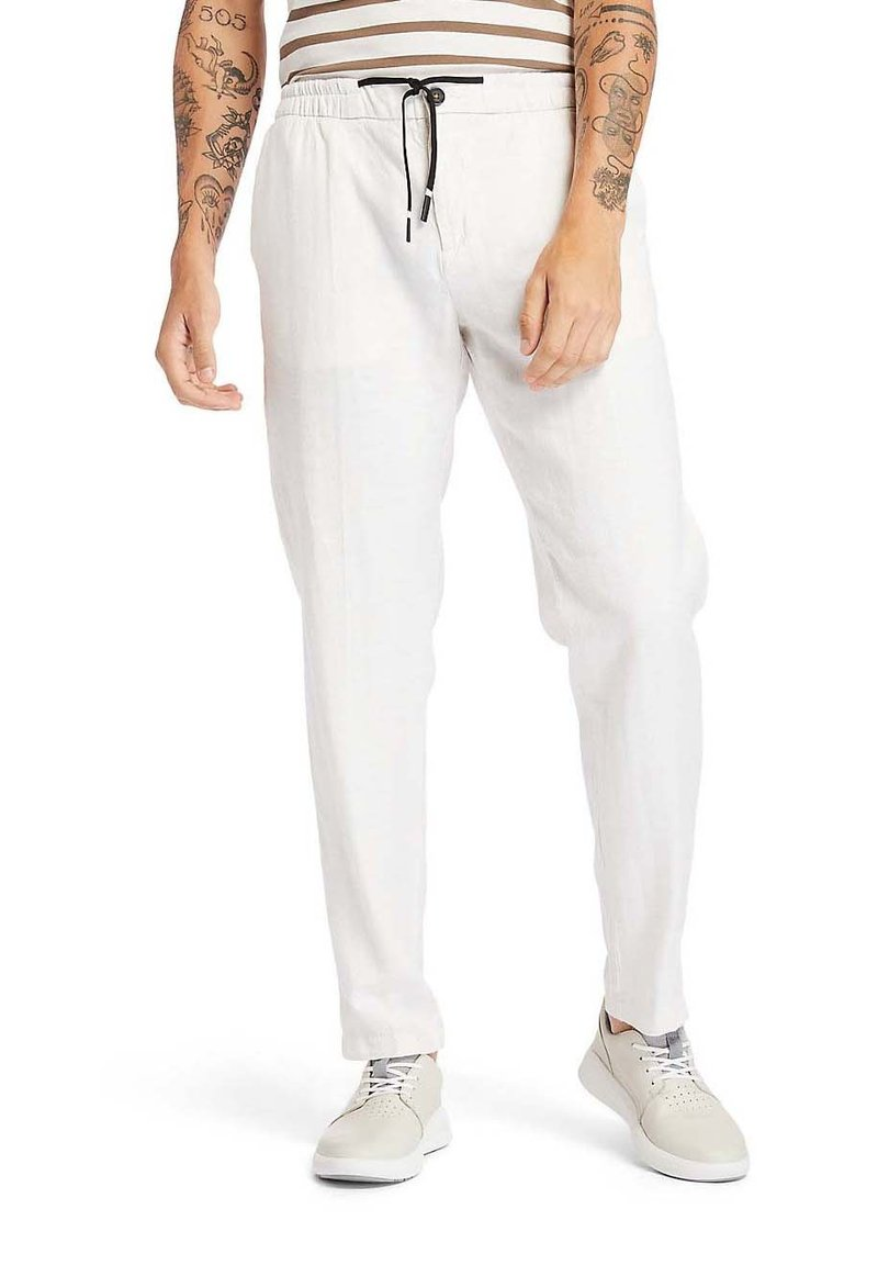 Timberland - Tracksuit bottoms - white sand