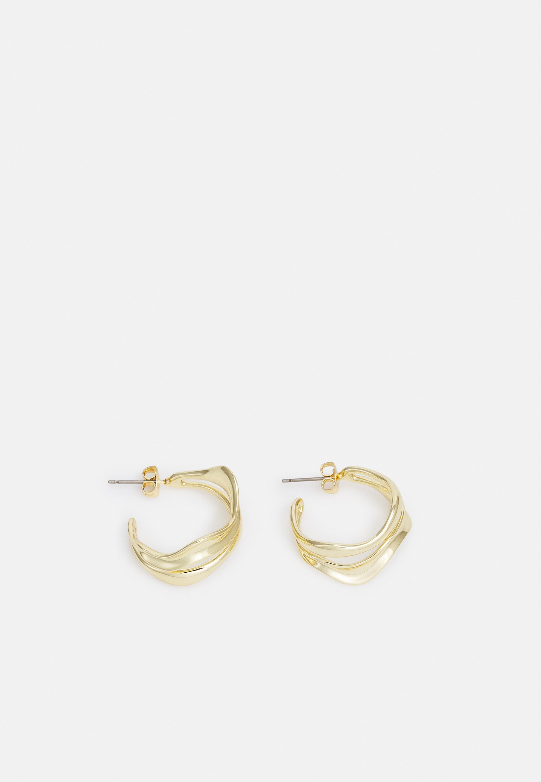 Donna FPPHILYS GOLD PLATED HOOP EARRING ZAL - Orecchini