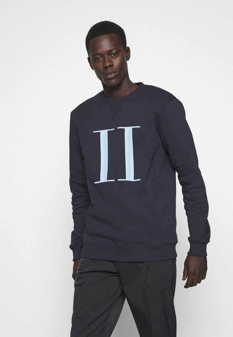 Les Deux - ENCORE - Sweatshirt - dark navy/sky blue