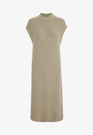 BYNORA - Jumper dress - cement melange