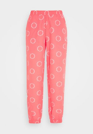 CUFFED PANT - Tracksuit bottoms - magic pink/white