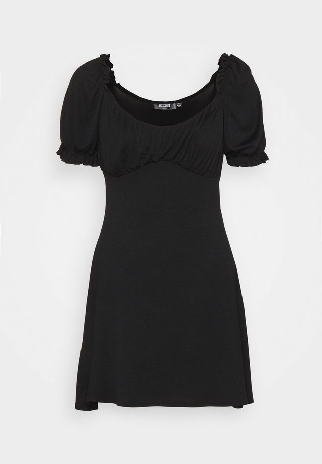 MILKMAID SKATER DRESS - Jersey dress - black