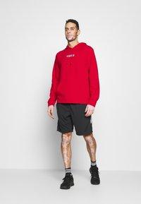Calvin Klein Performance - HOODIE - Sweatshirt - red - 1