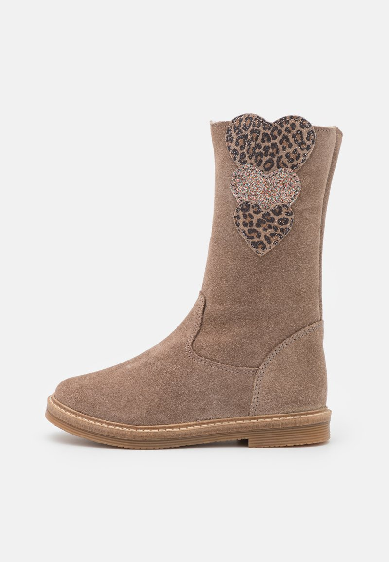 Friboo - LEATHER - Boots - taupe