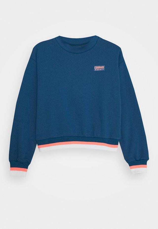 BOXY TEENAGER - Sweatshirt - deep petrol
