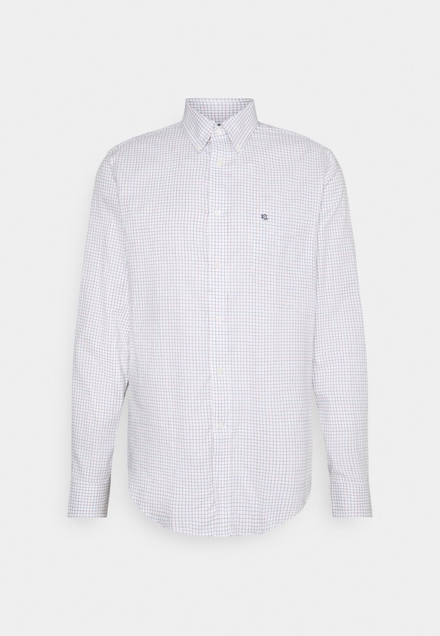 Formal shirt - white/multi-coloured