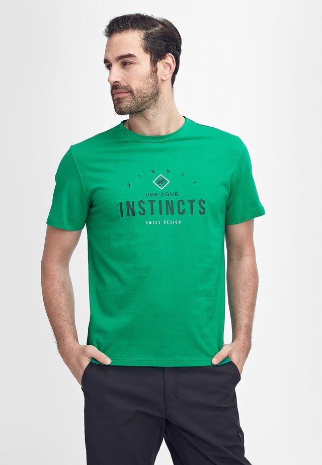 SEILE  - T-shirt imprimé - light emerald