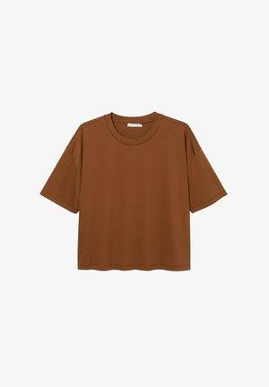 ALVA  - T-shirt basic - brown
