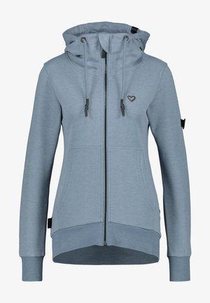 Zip-up hoodie - steel