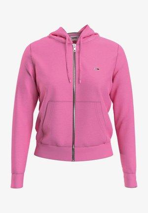 Zip-up hoodie - tou pink