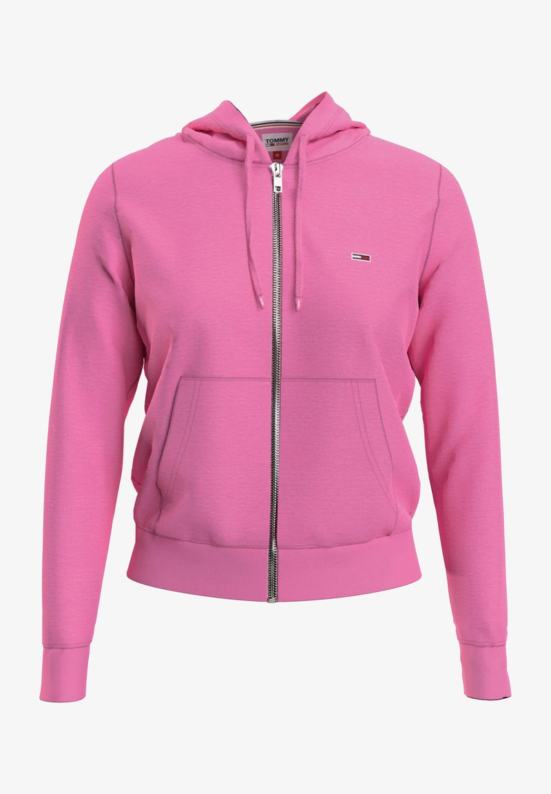 Tommy Jeans - Zip-up hoodie - tou pink
