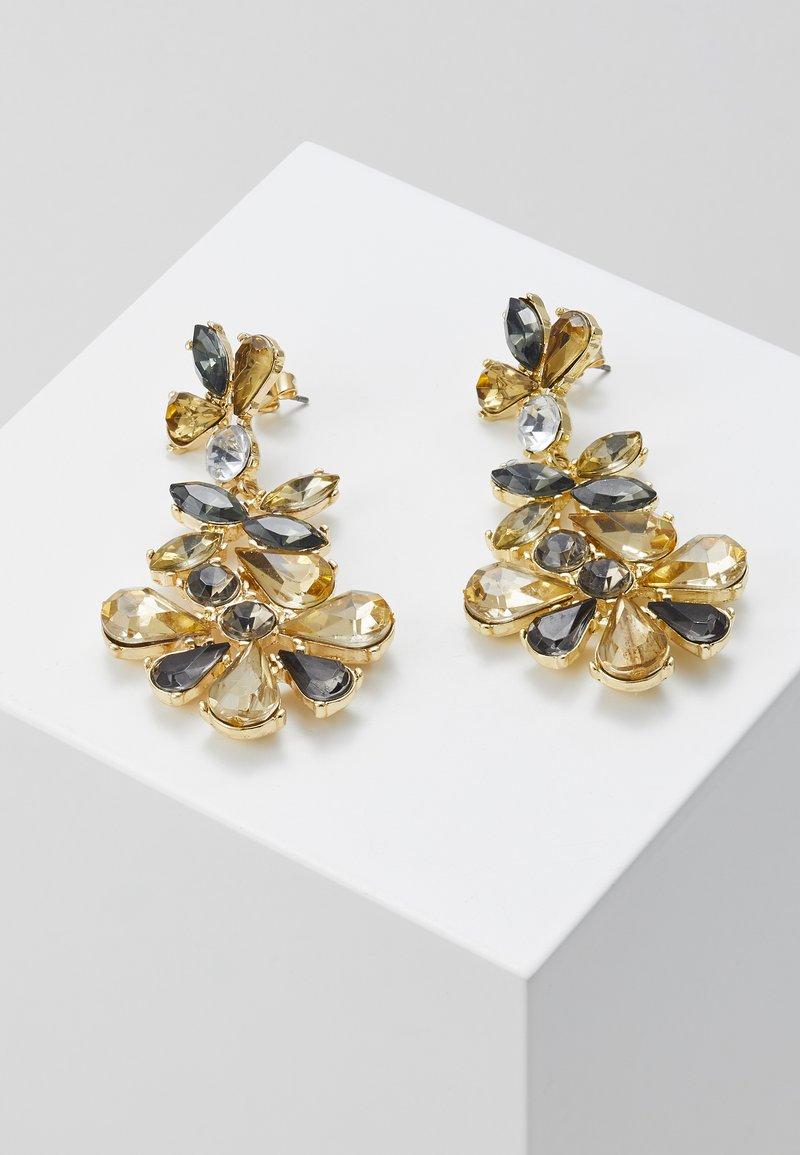 Pieces - PCGREY EARRINGS  - Orecchini - gold-coloured/grey